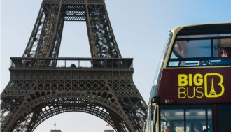 1-Day Big Bus E-Ticket and Audio-Guided Tour of the Louvre