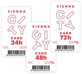 Vienna City Card Big Bus White Card 24 Ore