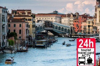 Venice ACTV Tourist Ticket 24 hours Adult (Child to 6 free)