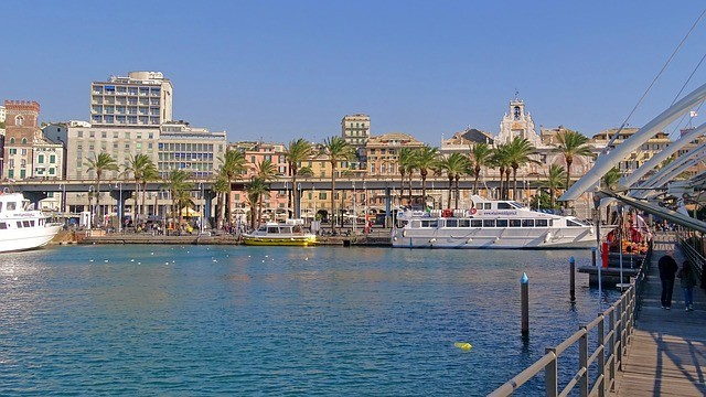 Genoa City Sightseeing Tour 24hr + 24hr Free