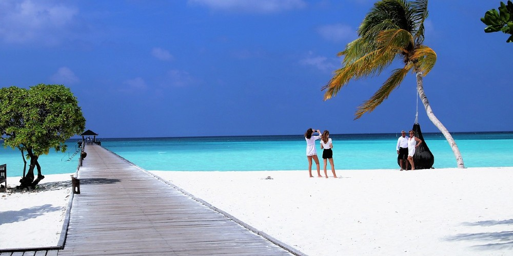 The Maldives a paradise for young and old