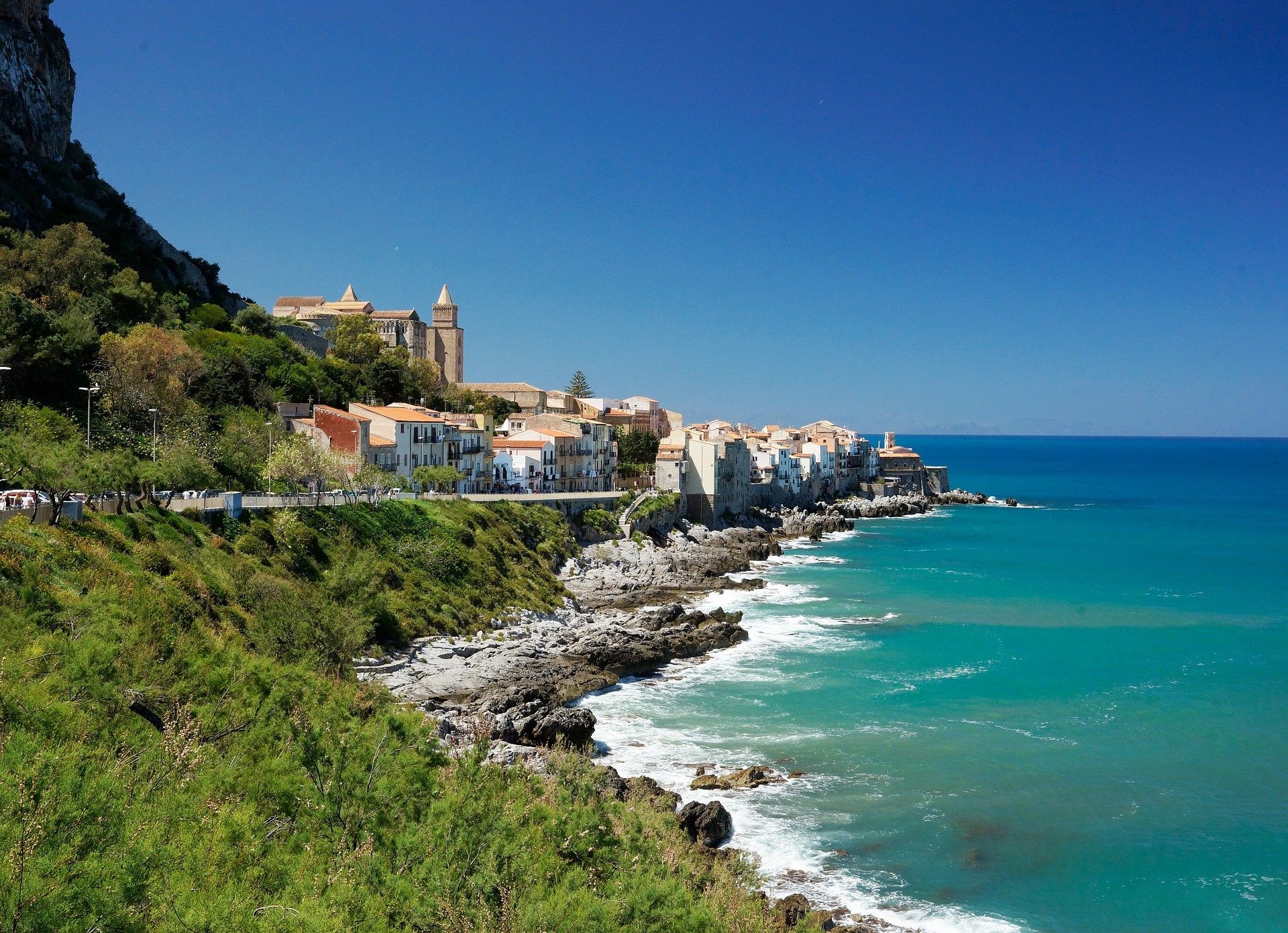 Where is the most beautiful sea in Italy?