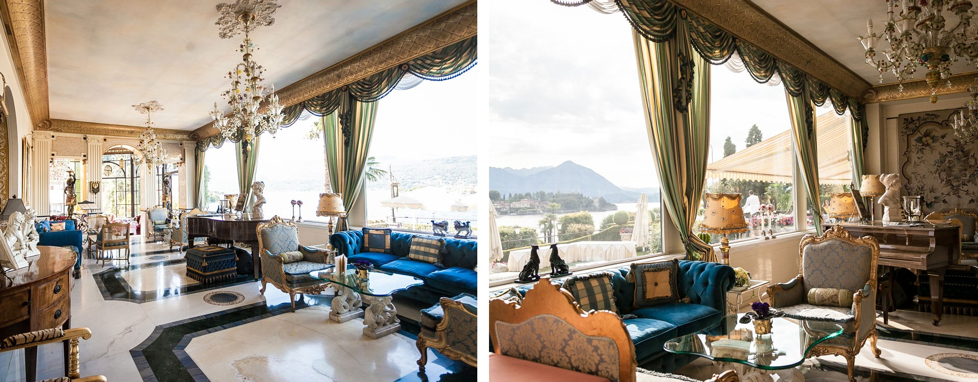 Villa Aminta on the shores of Lake Maggiore