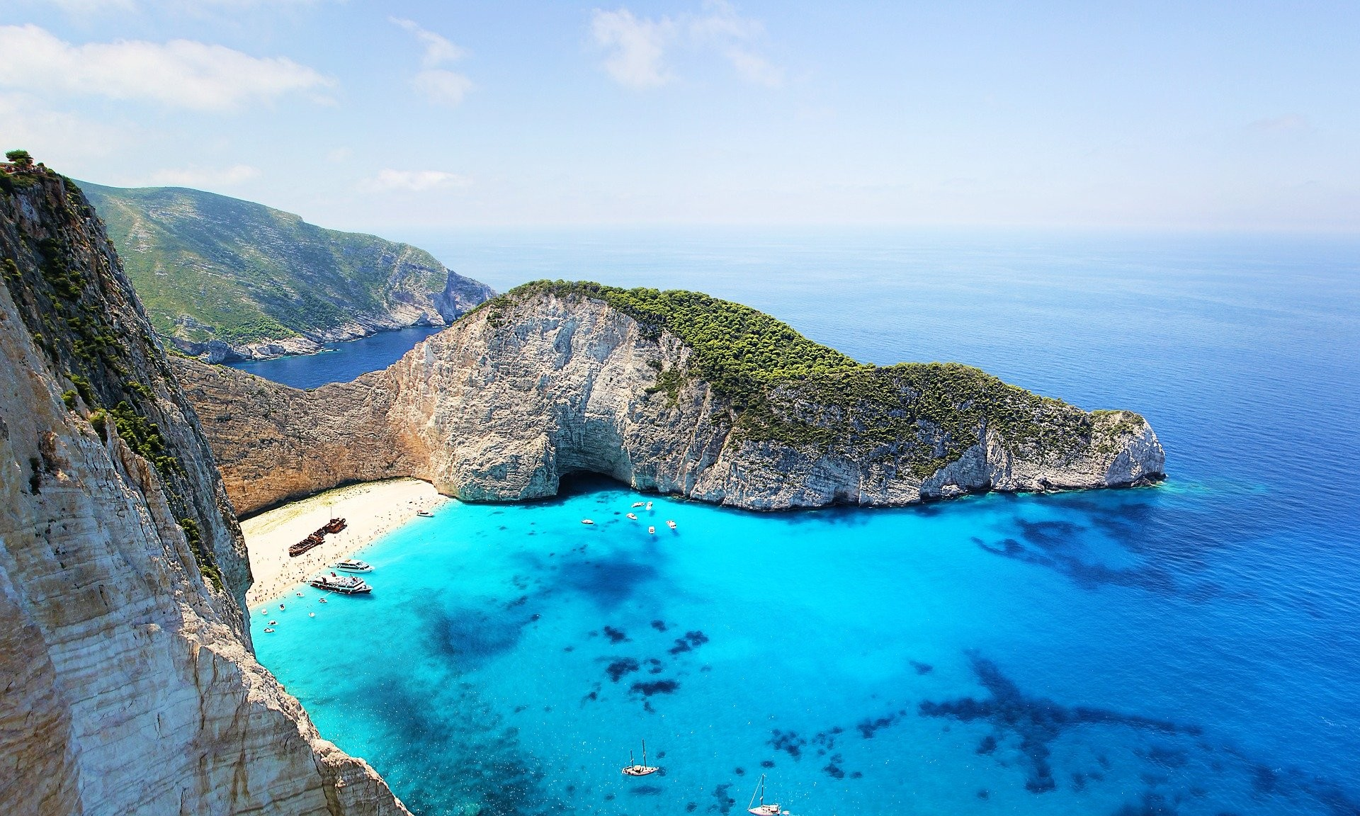 Zakynthos island, desire for sea and nature